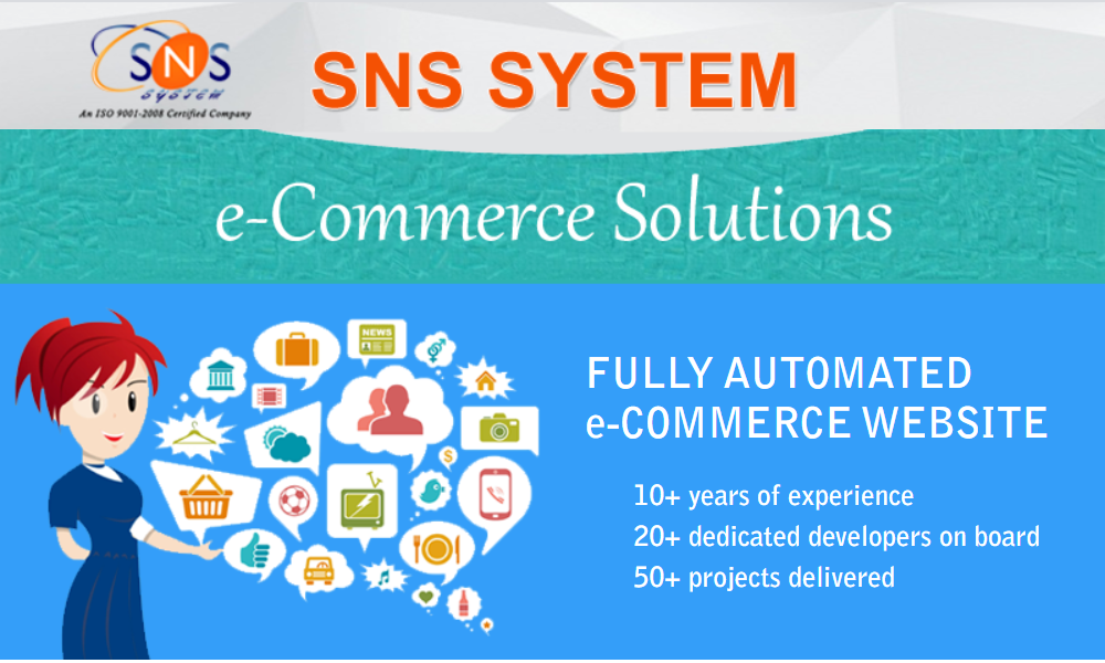 Ecommerce development and services